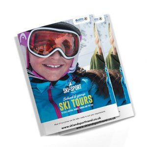 sheffield printers ski & sport booklet
