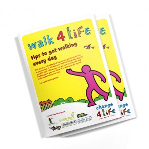 sheffield printers walk for life booklet
