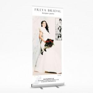 sheffield printers freya bridal roller banner