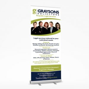 sheffield printers graysons roller banner