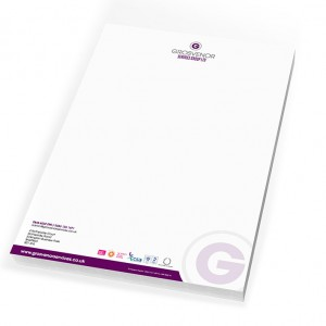sheffield printers grosvenor services letterheads
