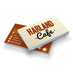 sheffield printers harland cafe business cards