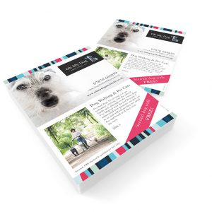 sheffield printers oh my dog leaflet