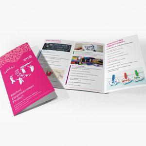 Sheffield Printers - Roshni Folded Leaflet