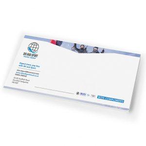 Ski & Sport Compliment Slip - Sheffield Printers