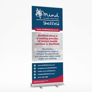 sheffield printers mind roller banner