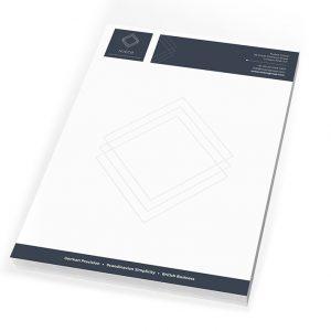Nueco Letterhead - Sheffield Printers