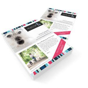 sheffield printers oh my dog leaflet